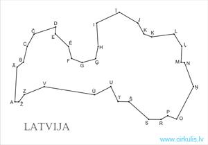 Latvijas kontūra
