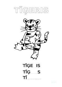 Tīģeris bez burtiem