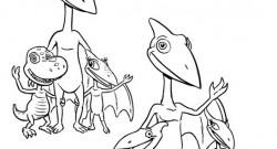 dinozauru vilciens