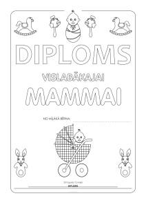 Diploms mammai