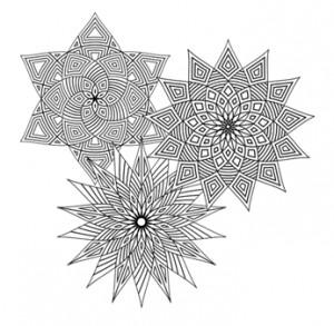 Ģeometriskās mandalas