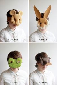 Gatavojam masku