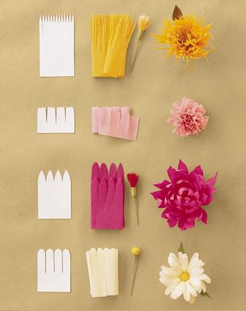 Papīra puķes