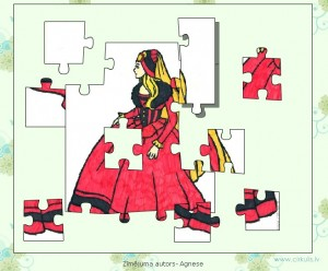 Puzzle princese