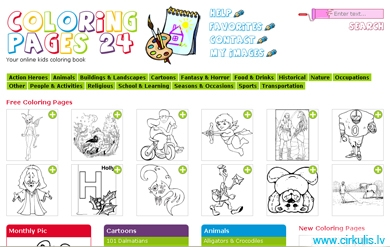 Krāsojamo lapu galerijas