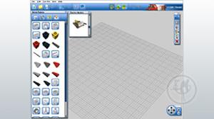 Virtuāls Lego konstruktors