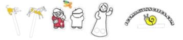 Les marionnettes- papīra lelles
