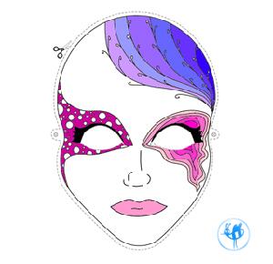 Maskas no papīra