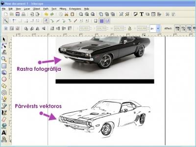 Bezmaksas attēlu apstrādes programmas-Inkscape