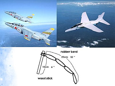 Papīra reaktīvā lidmašīna