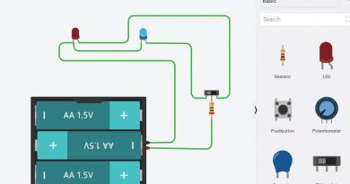 Autodesk Tinkercad Circuits bērniem