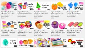Origami pēc video pamācībām