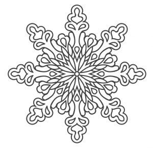 Sniegparslas mandalas (2)