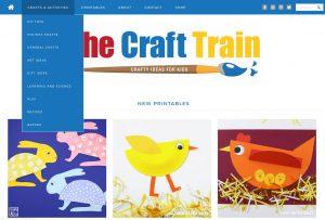 The Craft Train bērniem