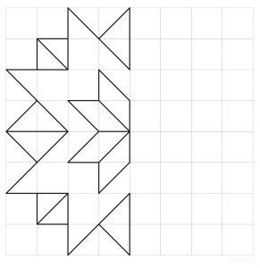 auseklis_simetrija