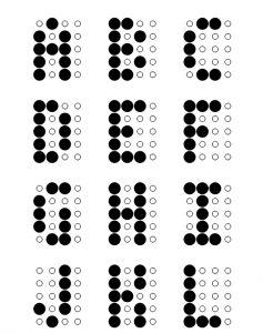 led alfabets