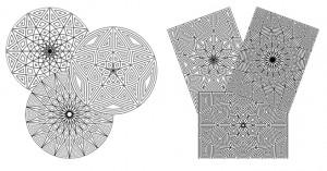 mandalas ģeometriskas