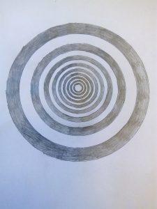 optiska iluzija apļi 1