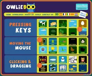 Owlieboo spēles bērniem
