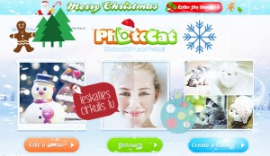 Photocat- attēlu apstrādei tiešsaistē