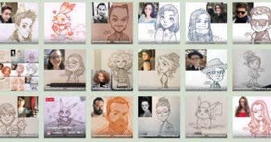 Zīmēti portreti no foto