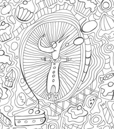 RYE field krāsojamās lapas