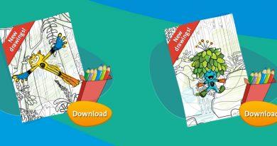 Rio 2016 Olympics krāsojamās lapas