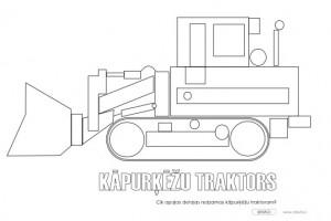 Kāpurķēžu traktors